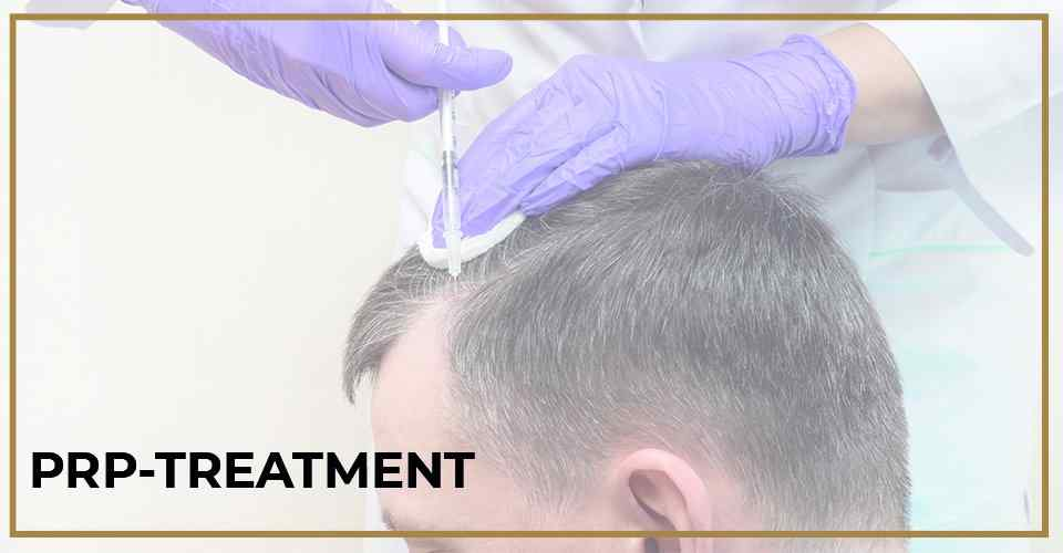 Hair restoration prp treatment
